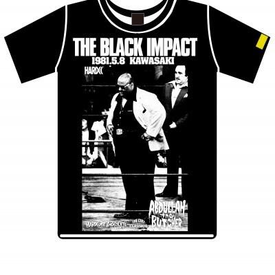 ハードコアチョコレート アブドーラ・ザ・ブッチャー/KAWASAKI NIGHT(IWGPブラック)Tシャツ