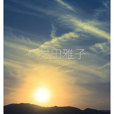 【オリジナルプリント】八百富神社の参道での夕日