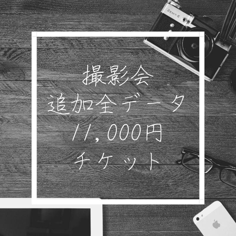 【11月28日】撮影会追加全データ11,000円ウェブチケットのイメージその1