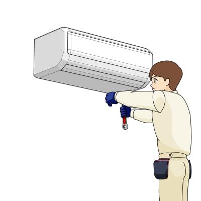 エアコン標準据付工事
