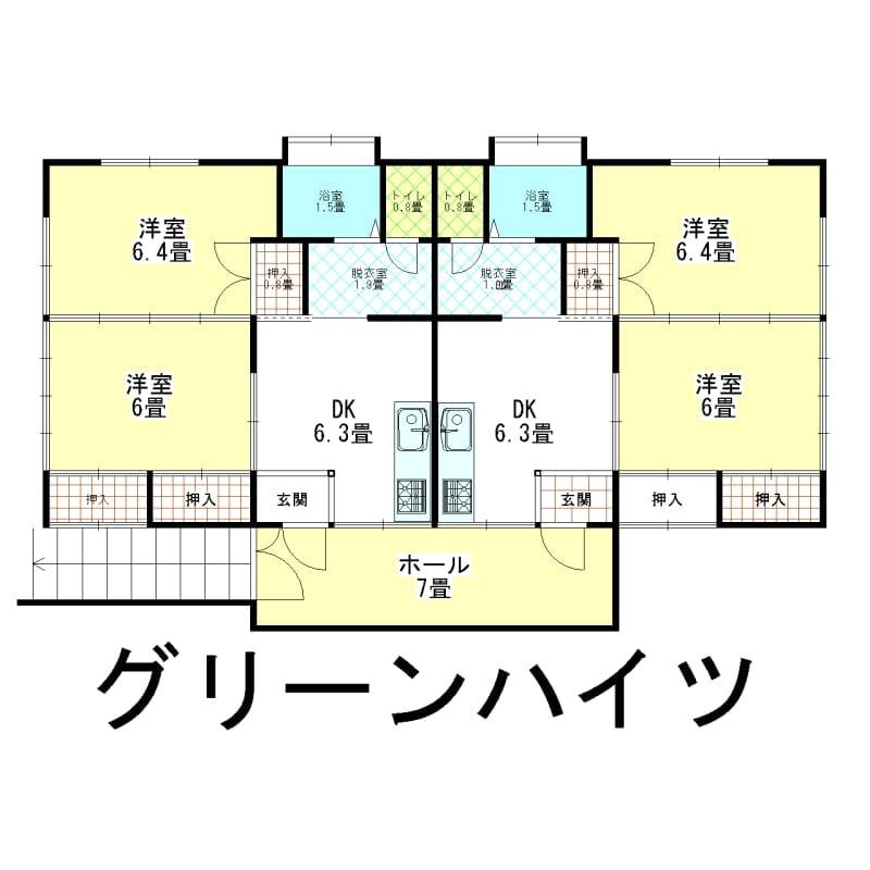 家賃1年チケット グリーンハイツ 新潟県西蒲原郡弥彦村弥彦763-2のイメージその1