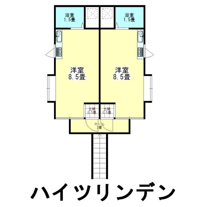 家賃1年チケット ハイツリンデン 新潟県燕市吉田東栄町1-12のイメージその1