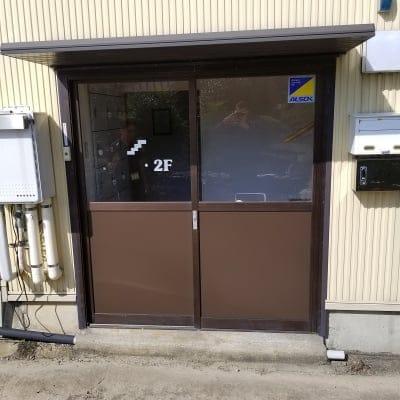 安達さま玄関ドア修理チケット