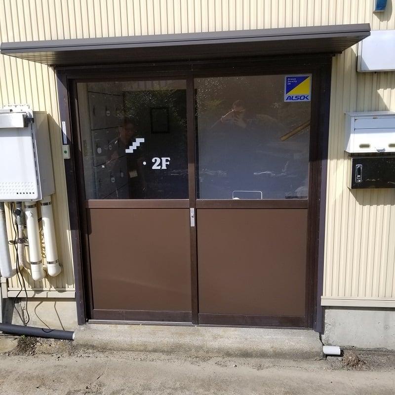 安達さま玄関ドア修理チケットのイメージその1