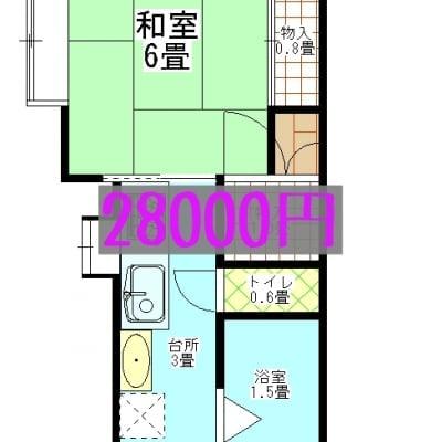 コーポハヤノ2家賃  新潟県西蒲原郡弥彦村弥彦763−2