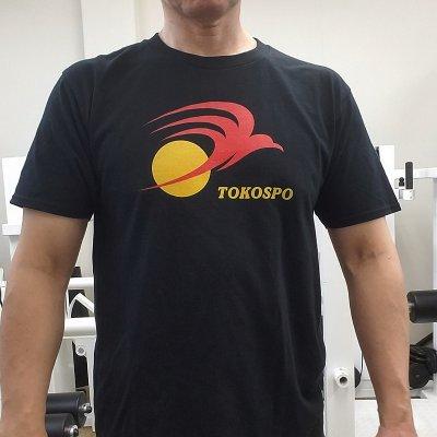 体と心を一致させるTーシャツ|Lサイズ|ブラック「TOKOSPOオリジナル|Str...