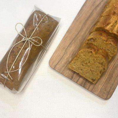 【白砂糖・乳製品・小麦粉不使用】人参と胡桃のパウンドケーキ