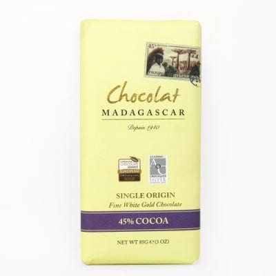 ショコラマダガスカル ホワイトゴールドチョコレート45%
