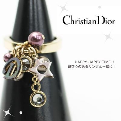 早い者勝ち【Christian Dior】クリスチャンディオール リング