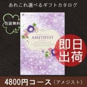 カタログギフト アメジスト 4800円(税抜)コース 包装無料