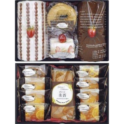 【出産祝いにどうぞ】ガトー・デリシュー焼菓子詰合せ タオルケーキセット