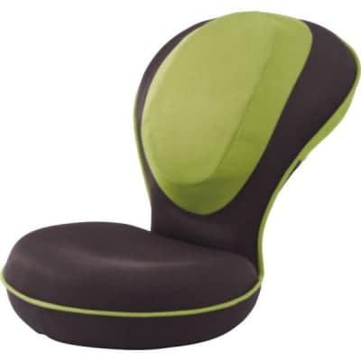 プロイデア 背筋がGUUUN 美姿勢座椅子 グリーン ブラウン