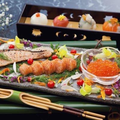 北海道いくら・3種の鮭とやまや明太子詰合せ 2740-50 (代引不可・送料無料)