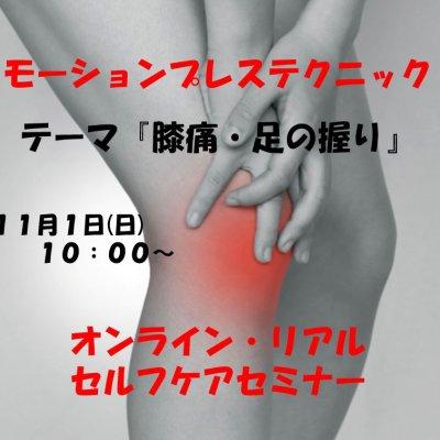 膝痛改善セルフケアセミナー(11/1)
