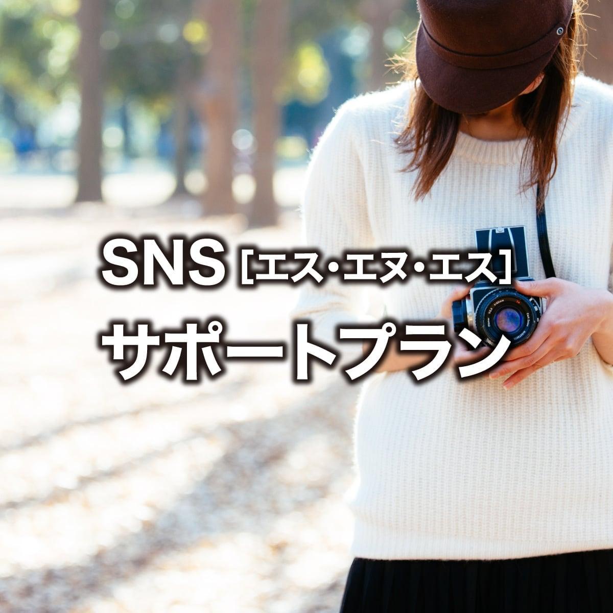 SNSサポートプラン(3ヶ月お試しコース)のイメージその1