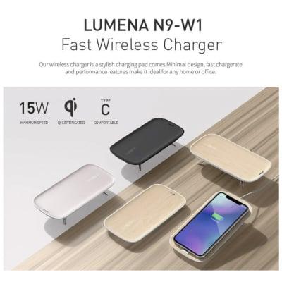 LUMENA/ルーメナー/超高速ワイヤレス充電器/最大15W/並行輸入品