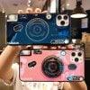 iPhone12 ケース mini Pro Max SE 11 X カメラ キャラクター かわいい シンプル アイフォン プレゼント 女の子 メンズ レディース