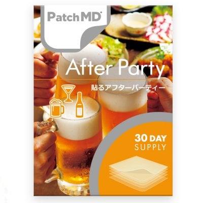 《日本公式代理店》【送料無料】こんな効き目初めて‼️飲み過ぎ!二日酔いに最高です!会社代表が5回体験済み『Patch MD パッチMD 貼るアフターパーティー』