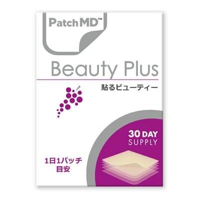 《日本公式代理店》【送料無料】ターンオーバーを正常化し、美肌に導く! 肌や細胞を健康に『Patch MD パッチMD 貼るビューティープラス』