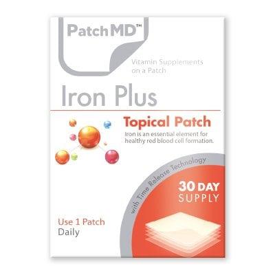 【送料無料】妊活・妊婦 貧血の解消や疲労回復【正規品】Patch MD パッチMD アイアンPLUS