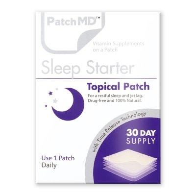 《日本公式代理店》【送料無料】自然で深く安らかな眠りへ『Patch MD パッチMD スリープスターター』