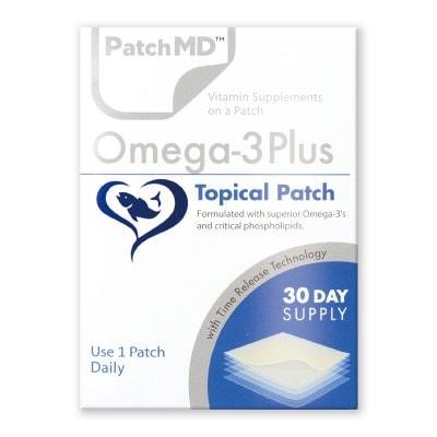 《日本公式代理店》【送料無料】オメガ3脂肪酸、EPA DHA 生活習慣病『Patch MD パッチMD オメガ3PLUS』