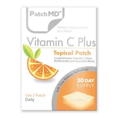 《日本公式代理店》【送料無料】『Patch MD パッチMD ビタミンC PLUS』海外版