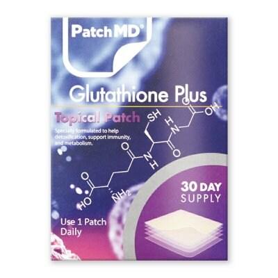 《日本公式代理店》【送料無料】抗酸化、美白、肝機能『Patch MD パッチMD グルタチオン PLUS』海外版