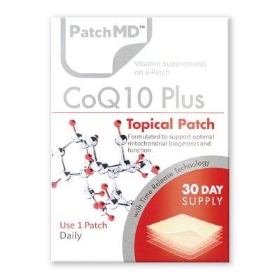 《日本公式代理店》【送料無料】美容・美肌・ダイエット・若返り『Patch MD パッチMD コエンザイムQ10 PLUS』