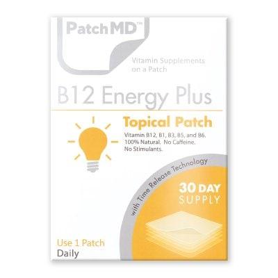 《日本公式代理店》【送料無料】頑張れ!エナジーアップ‼️各種ビタミンB群『Patch MD パッチMD ビタミンB12エナジーPLUS』