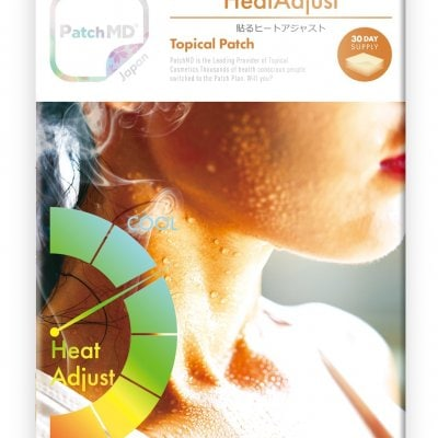 《日本公式代理店》【送料無料】汗を流す前の1Patch。熱中症予防、体力維持、栄養補給に。『Patch MD パッチMD 貼るヒートアジャスト』