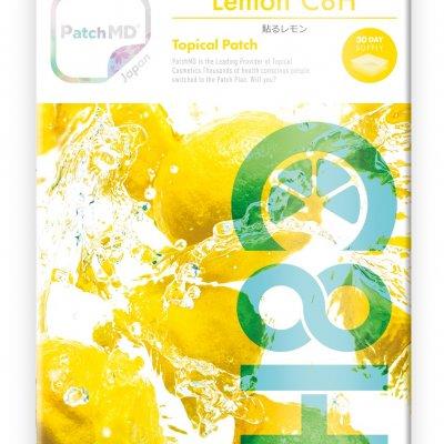《日本公式代理店》【送料無料】美容と健康の要!身体に蓄えられないので、毎日上手に摂取!『Patch MD パッチMD 貼るレモン C8H』