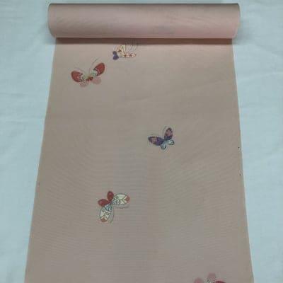 【夏物】正絹 絽小紋着尺(10cmあたり)250円