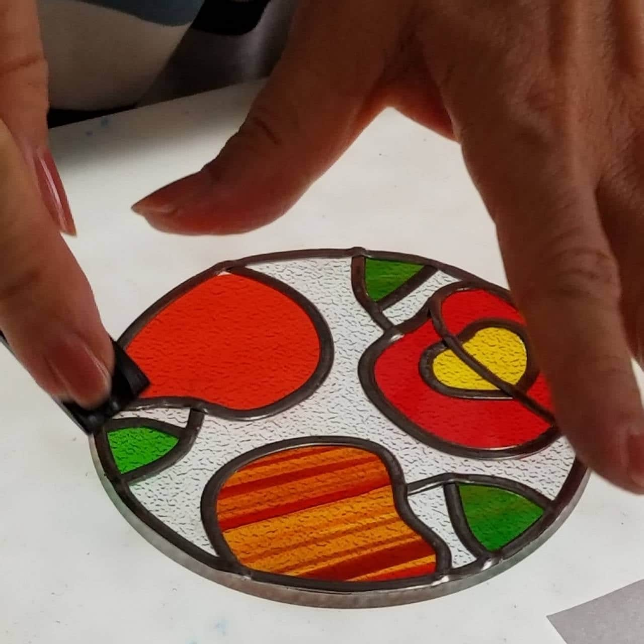 【グラスアート】【タイルクラフト】通常レッスンチケット(1回分・材料費別)のイメージその1