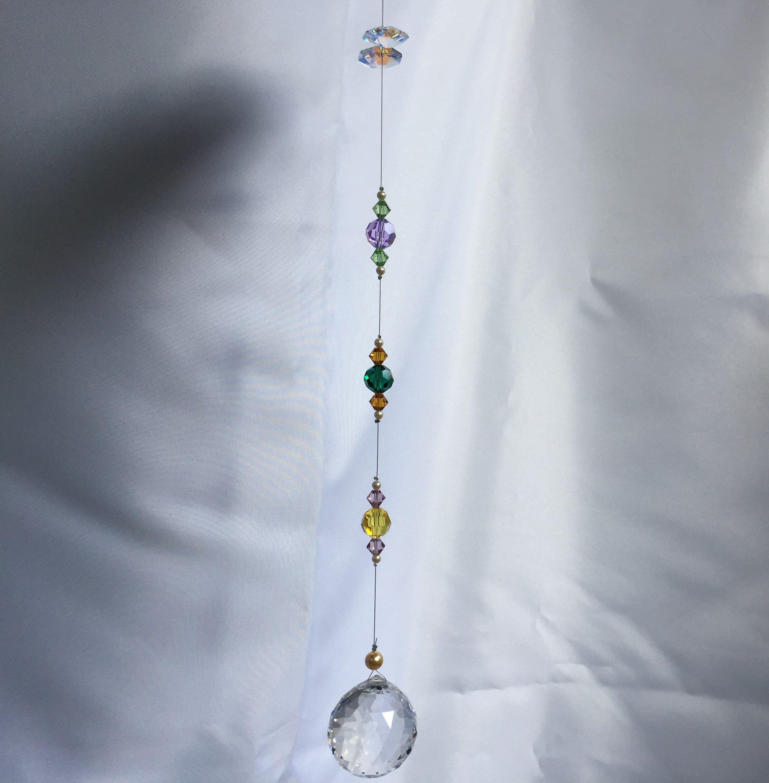 【太陽の恵 虹の輝き】3センチボールのオリジナルサンキャッチャー(ワークショップ)のイメージその3