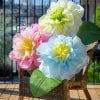 【紙をたのしむ kira×kira sketch☆彡】45cmおおきなお花