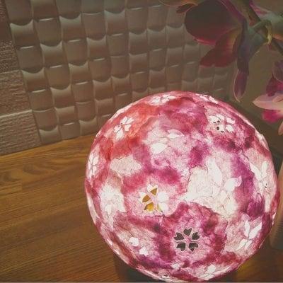 【 明かりラプンツェル 】桜の明かり