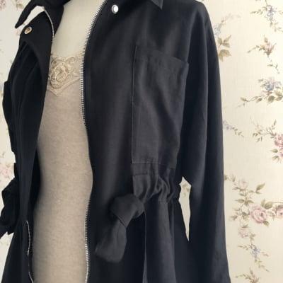 セール【ミリタリージャケット】梅雨時期の肌寒い日に オトナ女子ジャケット