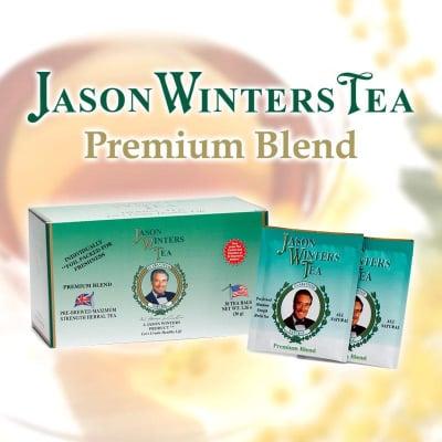 世界中で愛されている健康茶、ハーブティー、ジェイソン・ウィンターズ・ティー〈プレミアムブレンド〉