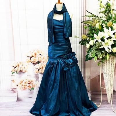 【新品】ロングドレス/Sサイズ/パープル/紫/グリーン/緑/色違いあり/編み上げ/st-S-0005-1.4.5