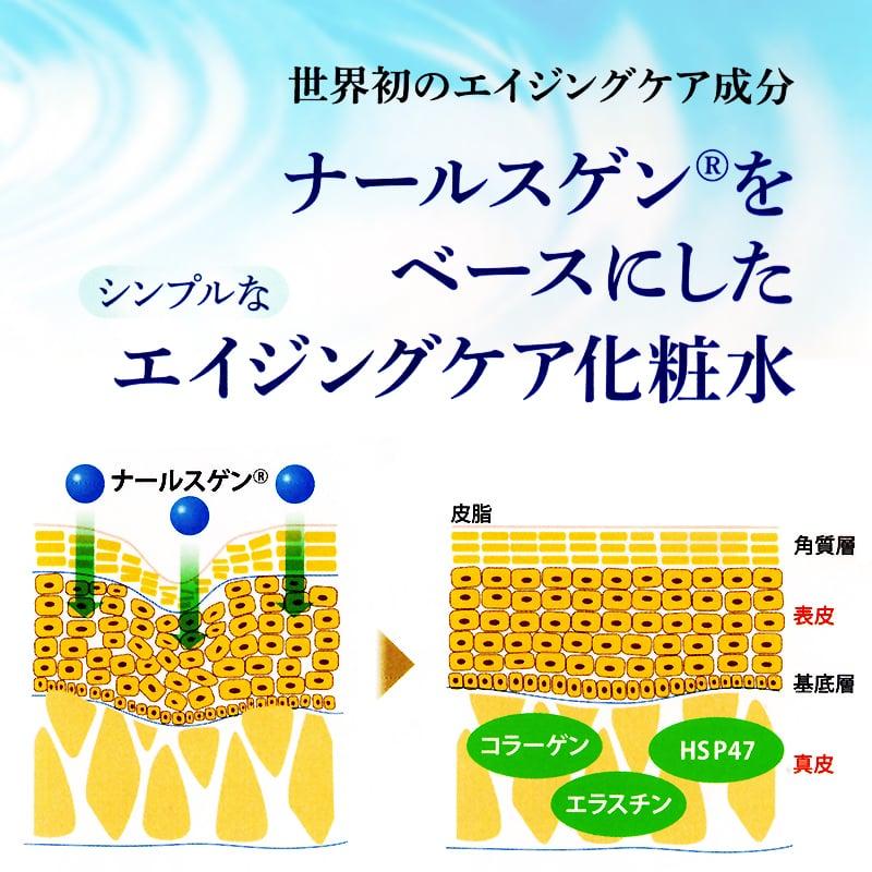 【店頭お渡し】エイジングケア化粧水 ナールスミントプラス(80ml)のイメージその3