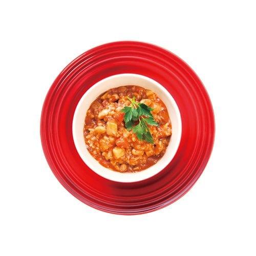 【店頭お渡し】ファスティングアシスト食/エステプロ・ラボ『ファストプロミール ファストプロ リゾット(トマト&根菜)』(200g×12袋入り)のイメージその1