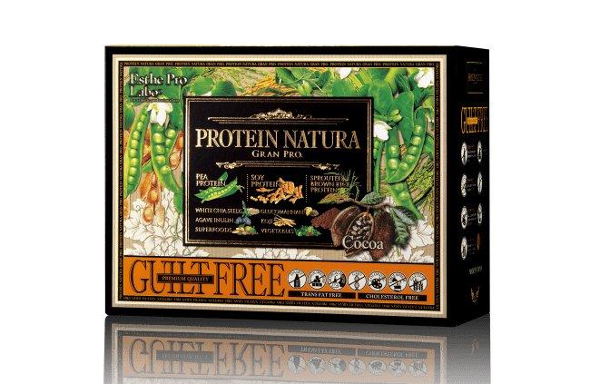 【店頭お渡し】植物性プロテイン/エステプロ・ラボ『プロテイン ナチュラ グランプロ(ココア)』(20袋入り)のイメージその1