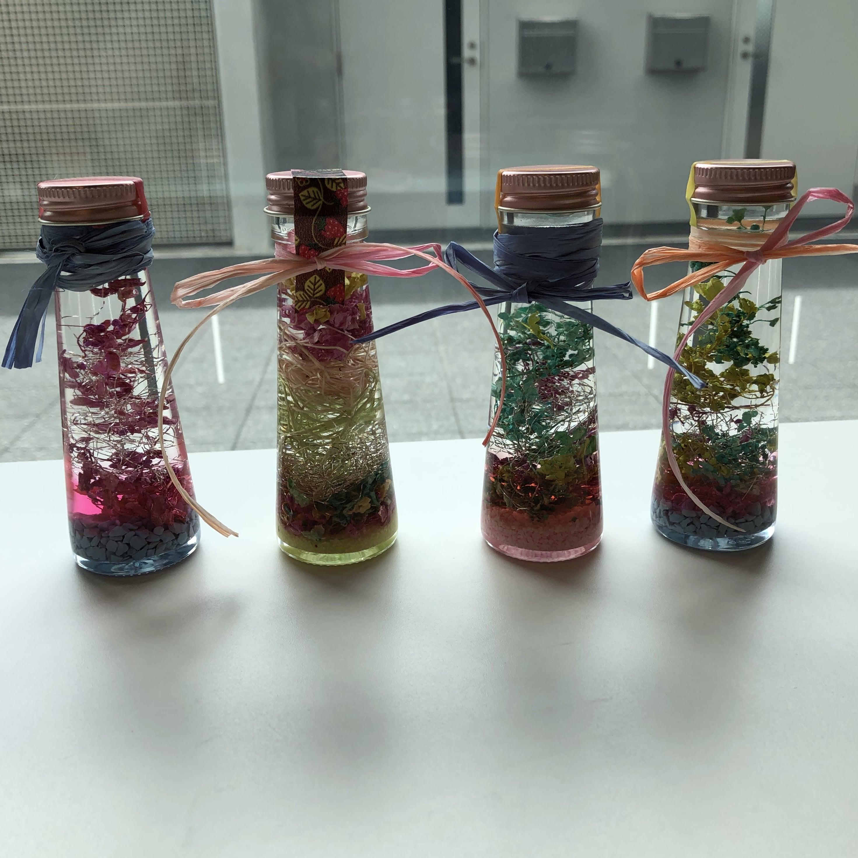 ハーバリウムミニボトルワークショップのイメージその1