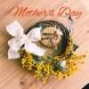母の日❣️こはく製菓とコラボ ミモザリースとママクッキー❣️