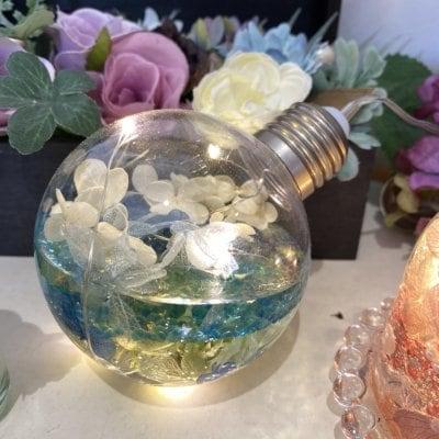リモートレッスン 光る 3Dハーバリウム  ボトル