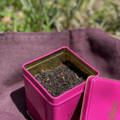 デンマーク王室御用達の有機紅茶「ブラックワイルドベリーティー」