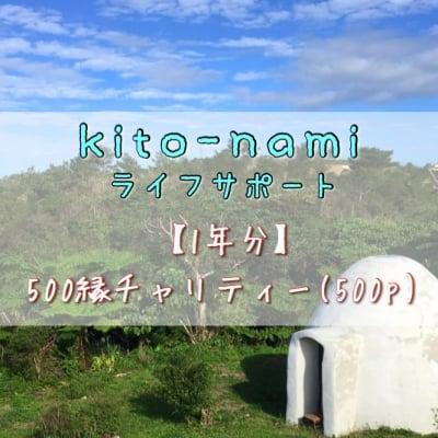 【1年分まとめて愛をお届け下さる方へ】《チャリティー》kito-namiライフスタイルサポート/500縁×12ヶ月分 *1500縁分の愛を先にお返しコース 高ポイント還元