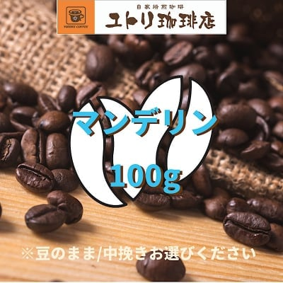 マンデリン 100g【自家焙煎コーヒー豆】