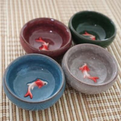 台湾茶器 湯のみ 4つで1セット
